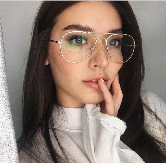 H M Accessories - Aviator glasses (clear) 1343ef2648